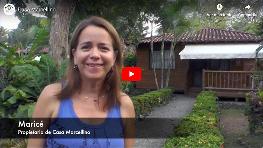 Casa Marcellino en Cahuita - Video de Youtube